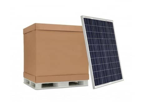 güneş paneli palet